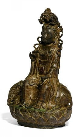 GUANYIN ON ELEPHANT