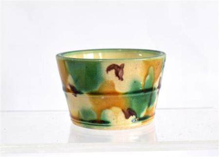 A Tri Coloured, Sancai Glazed Bowl, with Tapered Straight Si