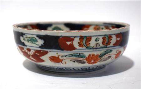 A Porcelain Bowl Painted in the Imari Palette, Japan, Showa