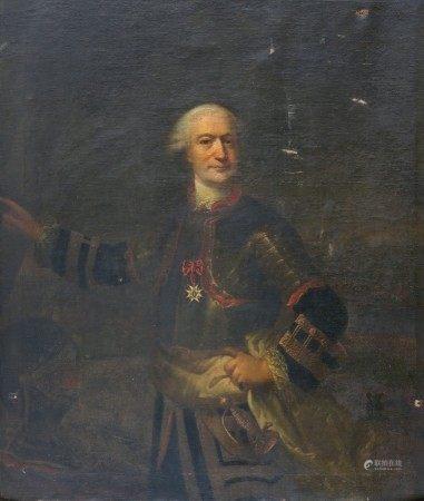 ECOLE Française de la Seconde Moitié du XVIIIème Siècle DESFOURS Portrait du [...]