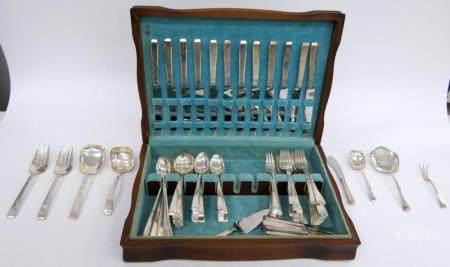 TOWLE 115 PIECE LIVING PATTERN STERLING SILVER SET