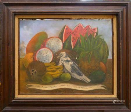 FRIDA KAHLO (MEXICO 1907-1954) STILL LIFE OIL
