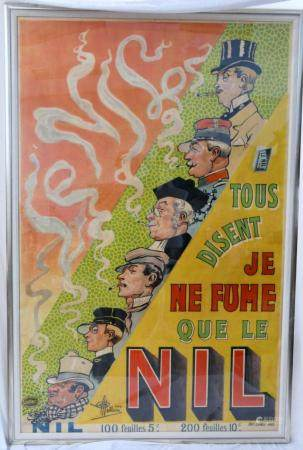 ALBERT GUILLAUME FRENCH 1893-1942 NOUVEAU POSTER