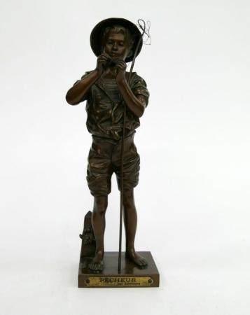 ADOLPHE JEAN LAVERGNE (1863-1928) FRENCH BRONZE