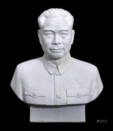 周恩來瓷塑像(有殘)