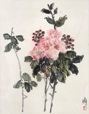 顾一尘(1906-1963)花卉