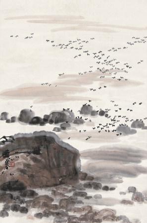 张晓寒(1923-1988)海天一色