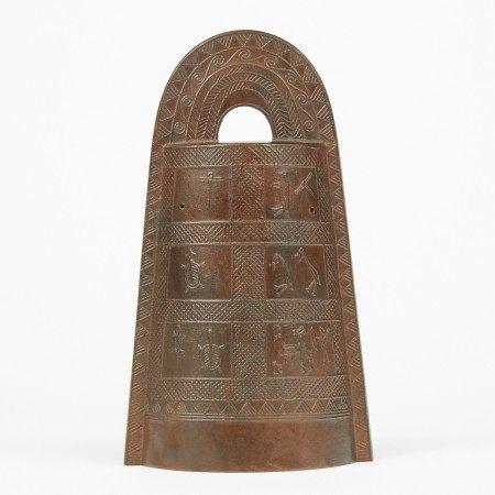Japanese Dotaku Bronze Bell w/ Box