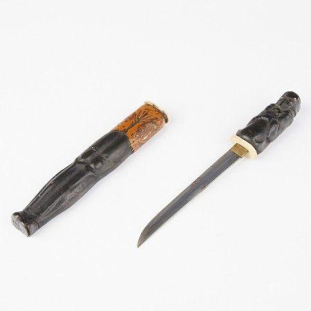 Japanese Tanto Dagger or Sword w/ Scabbard