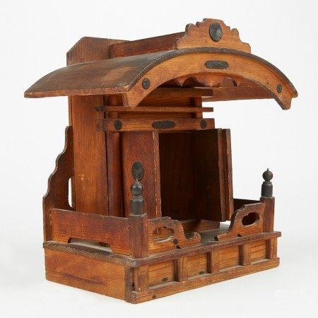 Miniature Japanese House Shrine Butsudan