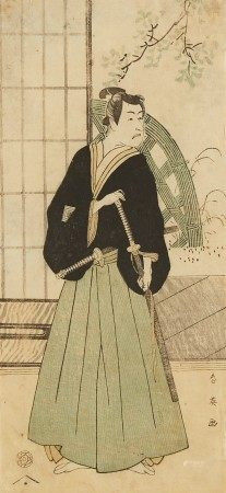 Katsukawa Shun'ei Japanese Woodblock Print
