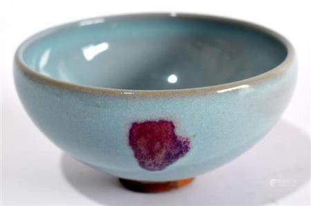 A Fine Splashed Junyao Bubble Bowl, after the Jin-Song Dynas