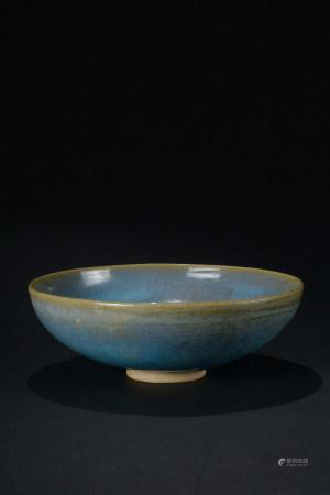 元代 鈞窯藍釉碗