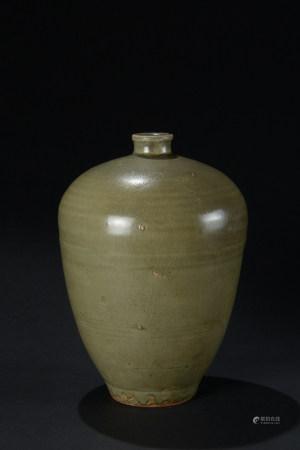 明代 龍泉窯梅瓶