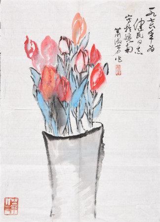 蕭淑芳 花卉