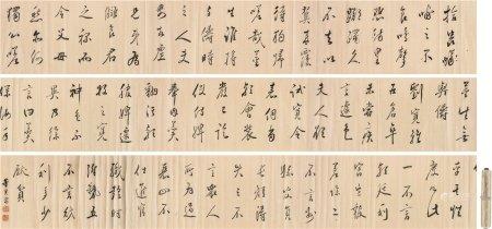 董其昌(1555~1636)  书法 长卷 水墨纸本