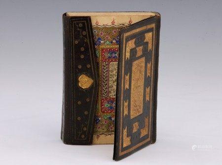 CORAN complet, Empire Ottoman, signé et daté 1272 H / 1855 Manuscrit complet sur [...]