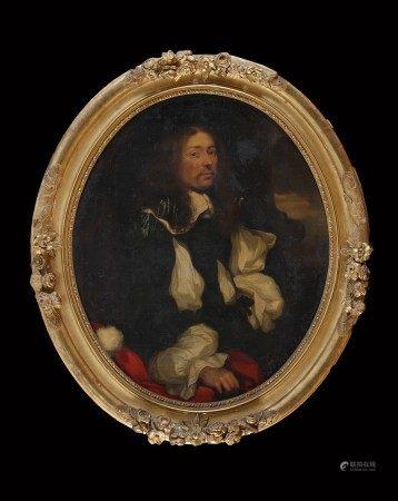 Sébastien BOURDON (Montpellier 1616 - Paris 1671) Portrait présumé d'Etienne de [...]