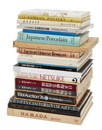 A collection of Japanese, Chinese, Korean and other art reference books, including: Japanese: