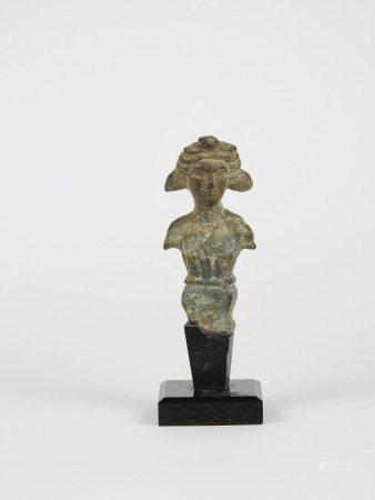 Elément en forme d'herme représentant un jeune dioscure [...]