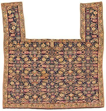Large Senneh Kilim Horse Cover