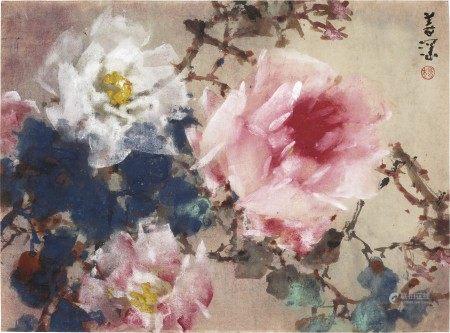 杨善深(1913-2004) 牡丹