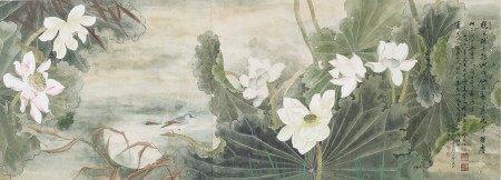邹苇澄(1915-1991) 荷花