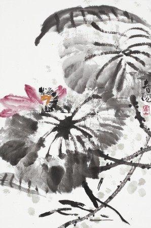 霍春阳(1946年生) 荷花