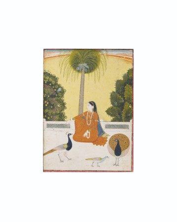 AN ILLUSTRATION FROM A RAGAMALA SERIES: KAKUBHA RAGINI NORTH INDIA, PUNJAB HILLS, BILASPUR, CIRCA 1780-1800