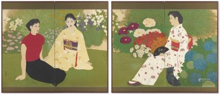 ITO MANYO (1921-1970) Beauties and Flowers