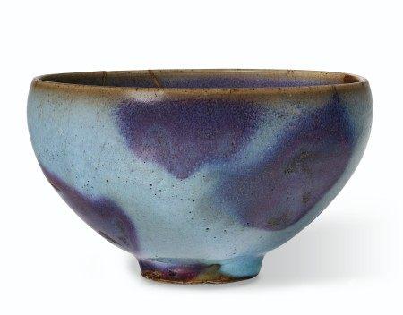 北宋 钧窑紫斑碗 NORTHERN SONG DYNASTY (AD 960-1127)