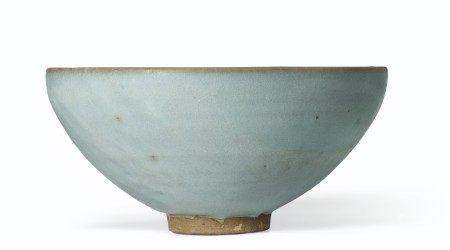 金 钧窑天蓝釉大碗 JIN DYNASTY (1115-1234)