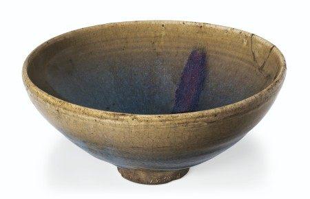 金/元 钧窑紫斑碗 JIN-YUAN DYNASTY (1115-1368)