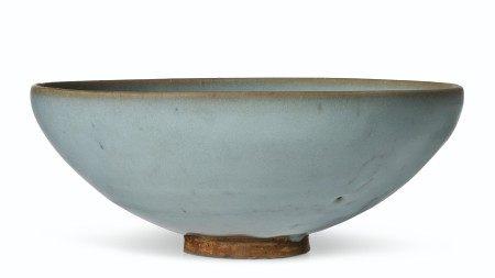 金 钧窑蓝釉大碗 JIN DYNASTY (1115-1234)