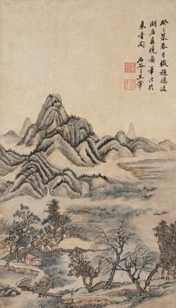 王翚 山水圖