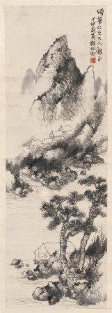胡佩衡(1892-1962) 山水圖