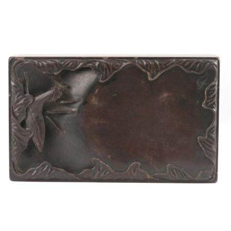 CHINESE STONE CARVED SEAL BOX