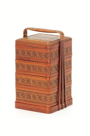 佐多蔵 竹製重箱