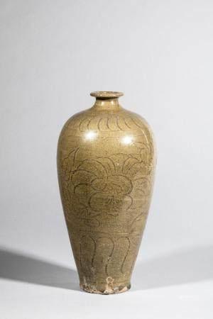 Vase meïping en porcelaine du longquan décoré en i…
