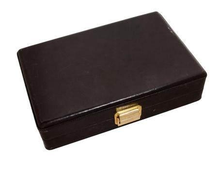 SCATOLA DEL TEMPON°73Housse de transport en cuir noir permettant de ranger 8 montres.Dimensions