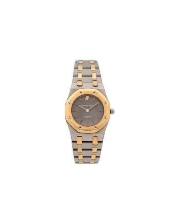 AUDEMARS PIGUET ROYAL OAK N° 955Montre bracelet pour femme en or jaune 18k (750) et acier, cadr