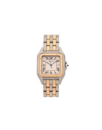 CARTIER PANTHERE VERS 1990Réf : 187957N° 03030Montre bracelet pour femme en or jaune 18k (750)