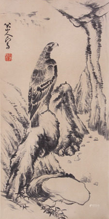A Chinese Painting By Ba Dashanren