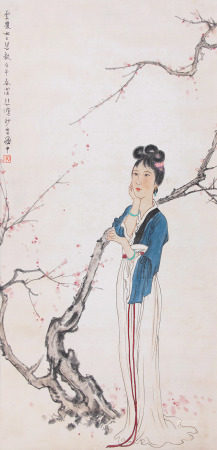 A Chinese Scroll Painting Xu Beihong