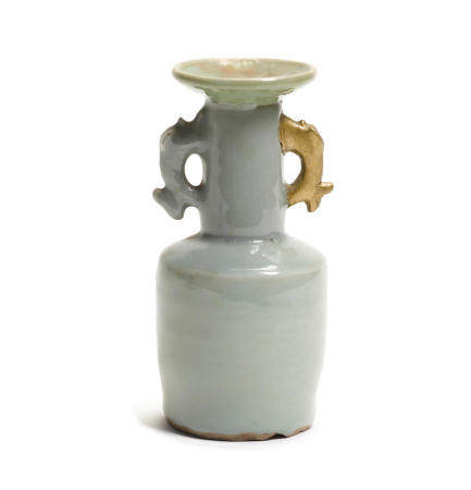 A celadon mallet-shaped vase  Song/Jin dynasties, 11th/12th century