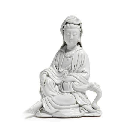 A Dehua Guanyin Late Qing/Republic Period