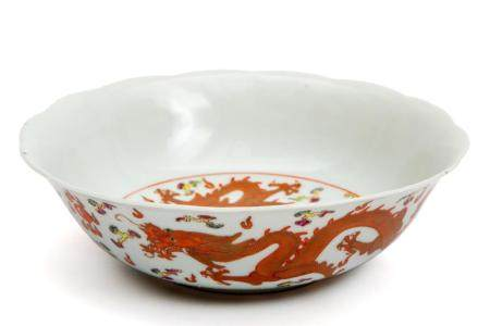 A Republic period dragon bowl