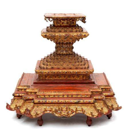 A Thai temple piece