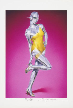 HAJIME SORAYAMA  Untitled  Signed and numbered in an edition of 35   MEDIUM: Digital print