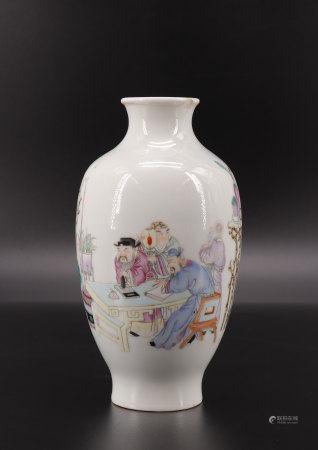 Republic china porcelain vase